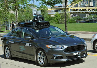 Uber acquires start-up to accelerate autonomous driving