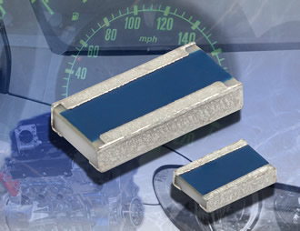 Resistors feature 1W power rating in compact 0612 case size