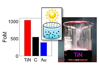 Nanoparticle boosts solar-powered water heating