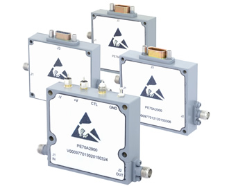 Voltage variable attenuators offer up to 60dB attenuation
