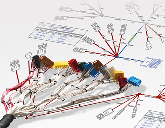 Development tool enables wiring harnesses to be completely modelled