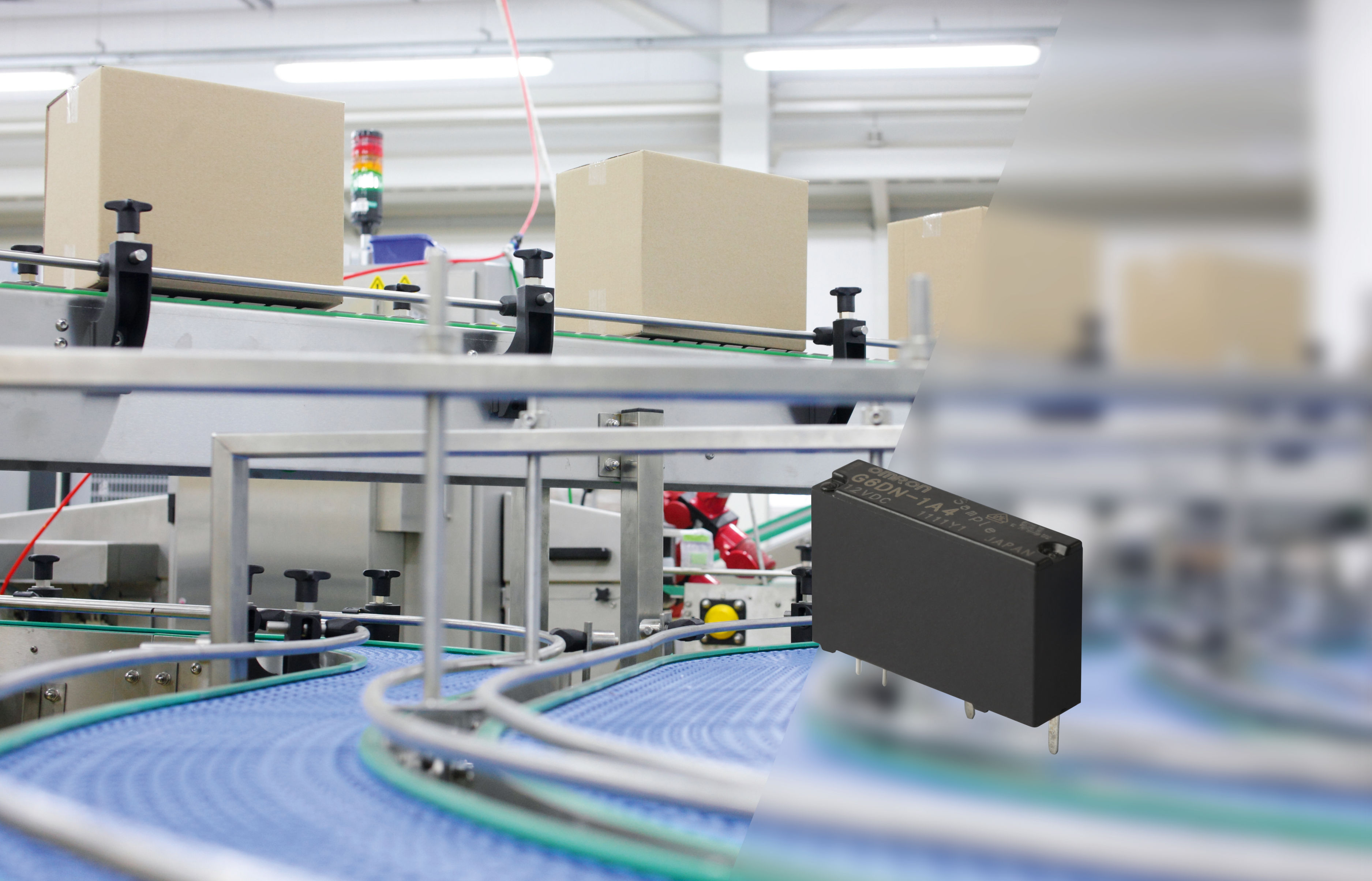 Omron Electronic Components Bv News From Escom Current Relay Compact Power Is Capable Of Switching 5a At 250vac
