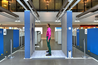 LCY is the first UK airport to introduce full-body scanner