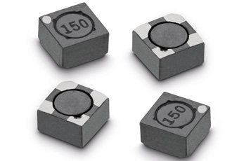 SMD coupled power choke is magnetically shielded