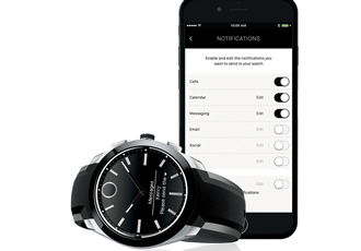 Smartwatch keeps you stylishly on time