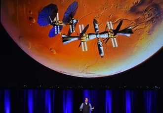 Lockheed Martin unveils water-powered Mars lander