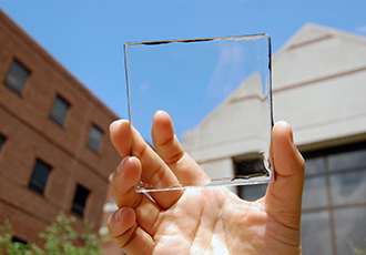 The upcoming revolution of transparent solar technology