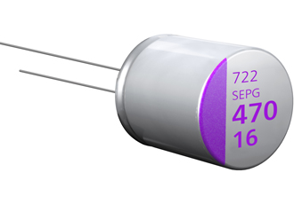 Polymer aluminium solid capacitors offer high ripple current