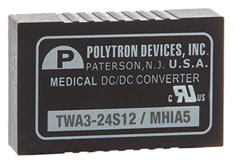 Medically approved DC/DC converters offer wide input range