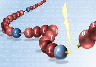 World's first reading of digitally encoded synthetic molecules