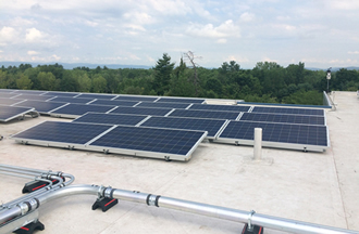 Sustainability on campus: taking solar to the next level
