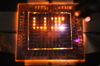 Nanorod LEDs could make multifunctional displays