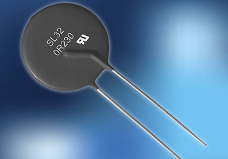 Circuit protection thermistor conserves power