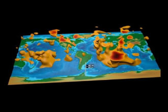 Scientists create a detailed 3D map of Earth's interior