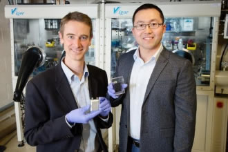 Electroplating delivers high-power batteries