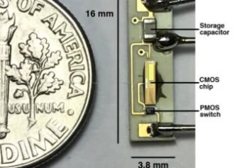 Battery-less pacemaker harvests energy wirelessly