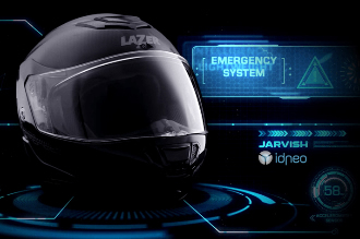 Idneo and Jarvish to develop smart motorcycle helmets
