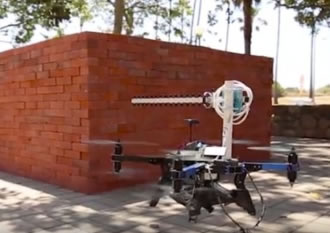 Method for 3D through-wall imaging utilises drones and WiFi