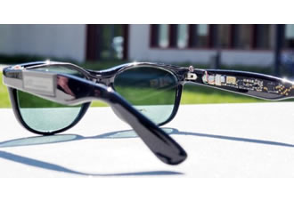Solar glasses can generate solar power