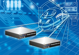 Railway DC/DC converters feature ultra wide input range