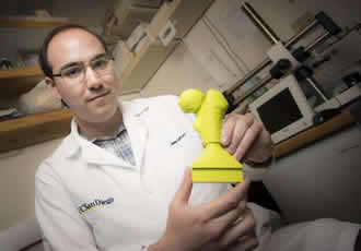 3D printing to help train surgeons and shorten surgery times