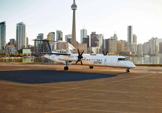 Porter Airlines increases fuel efficiency with SkyBreathe