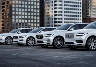 Volvo's electric vehicles to hit the road by 2019