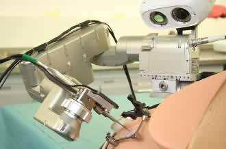 High-precision surgical robot aids cochlear implantation