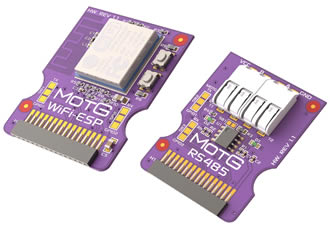 Modules-on-the-go provide simple plug-and-play interface for intelligent display modules