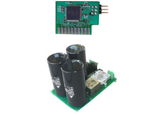 Two-phase digital power factor corrector consists of AC/DC converter