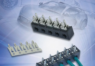WTB connection system for automotive electronics applications