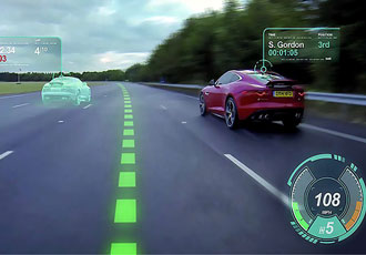 Will self driving vehicles be AR's first big platform?