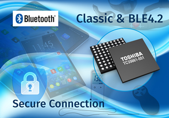 Dual-mode, single-chip IC is first to support BLE 4.2