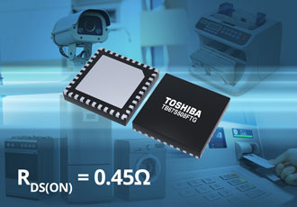 40V/3A stepper-motor control IC ensures quieter running