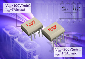 Mid-voltage range photorelays offer increased reliability