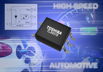 Photocoupler enables high speed automotive communication