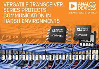 Transceiver protects communication in harsh environments