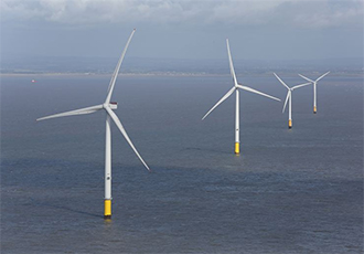 Energy storage solution for offshore wind farm
