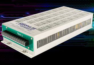 DC/DC converters designed for heavy duty industrial applications