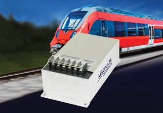 100W encapsulated DC/DC converters for RIA12 railway applications