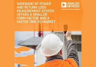 Wideband RF power measurement system offers smaller form factor