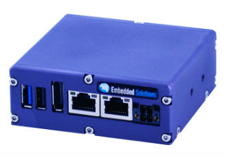 Embedded PC features wide voltage and temperature range