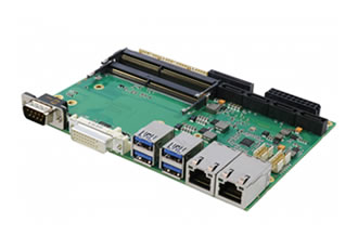 "6th Gen Intel Core Industrial 3.5"" SBC provides robust feature set"