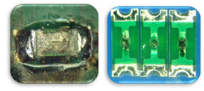 Driving improvements for surface mount fuse performance