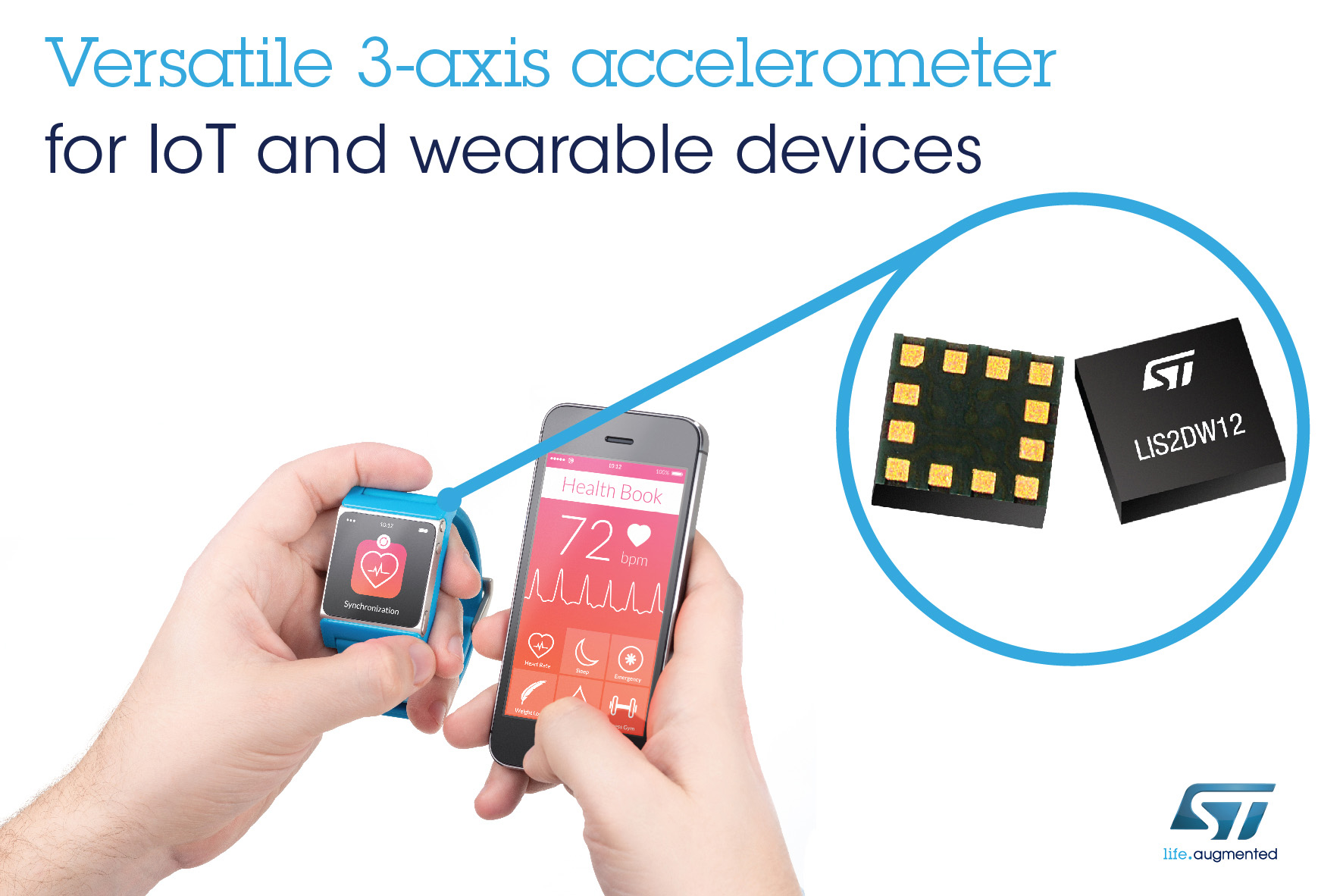 Rutronik presents accelerometer from STM
