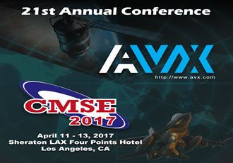 AVX to present and exhibit at CMSE 2017
