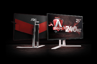 AOC presents 240Hz AGON G-SYNC monitor