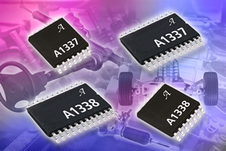 0˚ to 360˚ angle sensor ICs provide contactless information