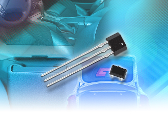 Two-wire Hall-effect switch ICs come with advanced diagnostics