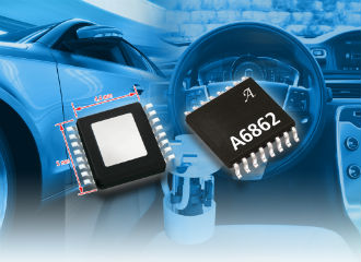 MOSFET driver IC suits electronic power steering